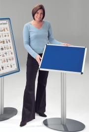 Shield Freestanding Foyer Notice Boards