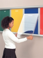 Shield Showline Multi-Bank Notice Board