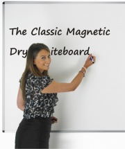 The Classic - Magnetic Drywipe Whiteboard
