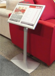 The Portland Freestanding  Literature Display Holder
