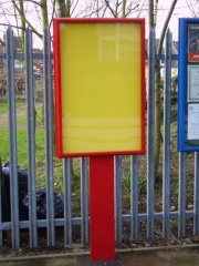 The Precinct External School Notice Board