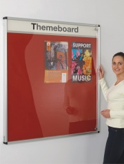 Themeboard Tamperproof Notice Board