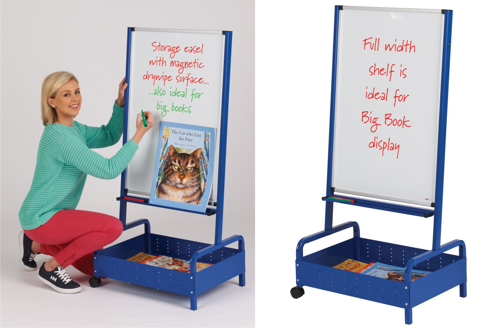Write On - Junior Big Book Storage Easel