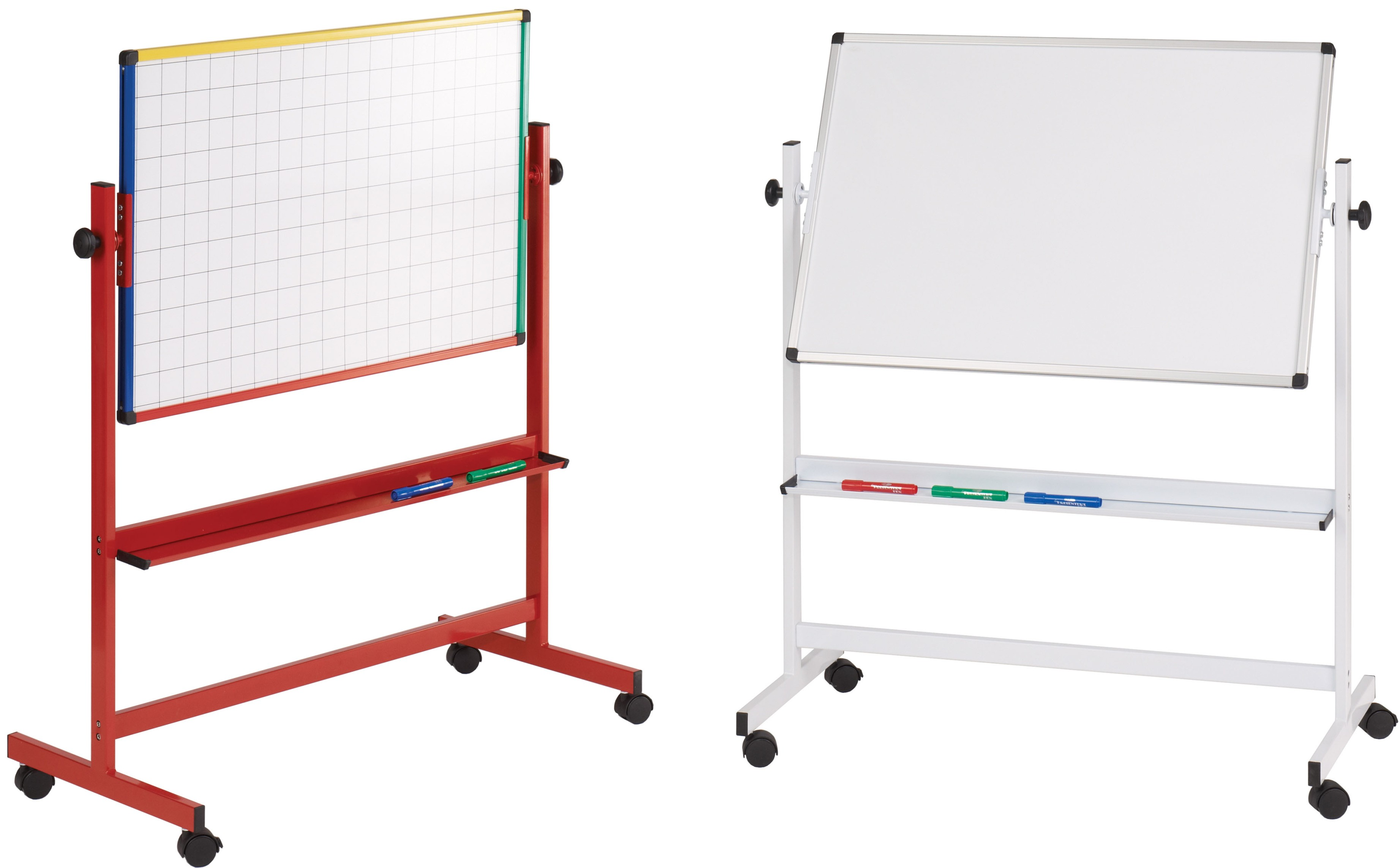 Write On Junior Mobile Drywipe Whiteboard
