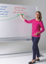 WriteOn Freestanding Revolving Whiteboards