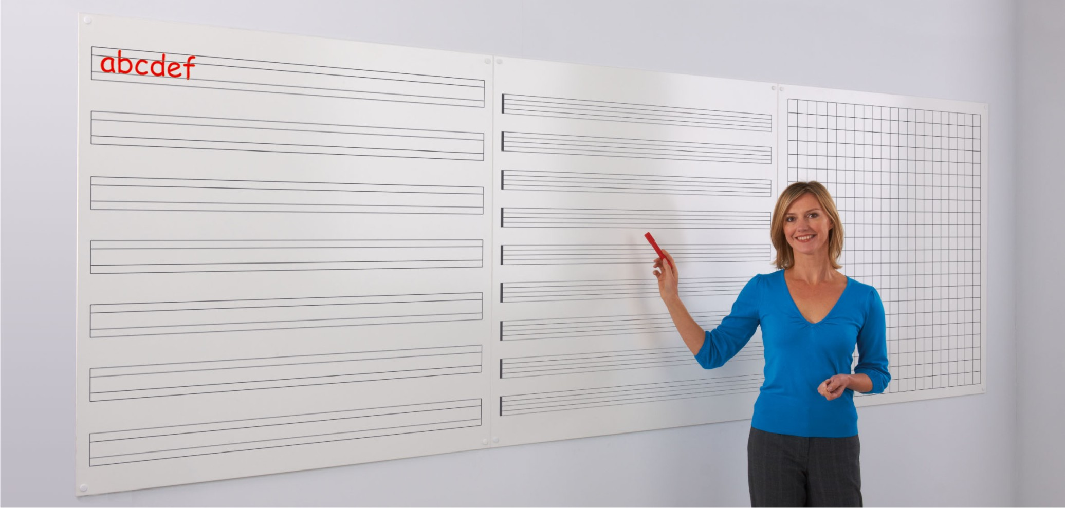 WriteOn Printed Modular Whiteboards