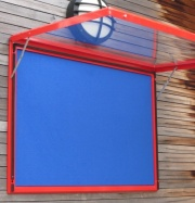 The Storm - Top Hung -  Wall Mounted Notice Board