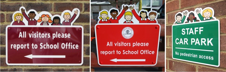 Bespoke School Signs