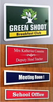 School Office and Classroom Door Signs
