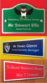 Classroom & Office Door Signs