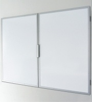 Confidential Winged Non Magnetic Drywipe Whiteboard