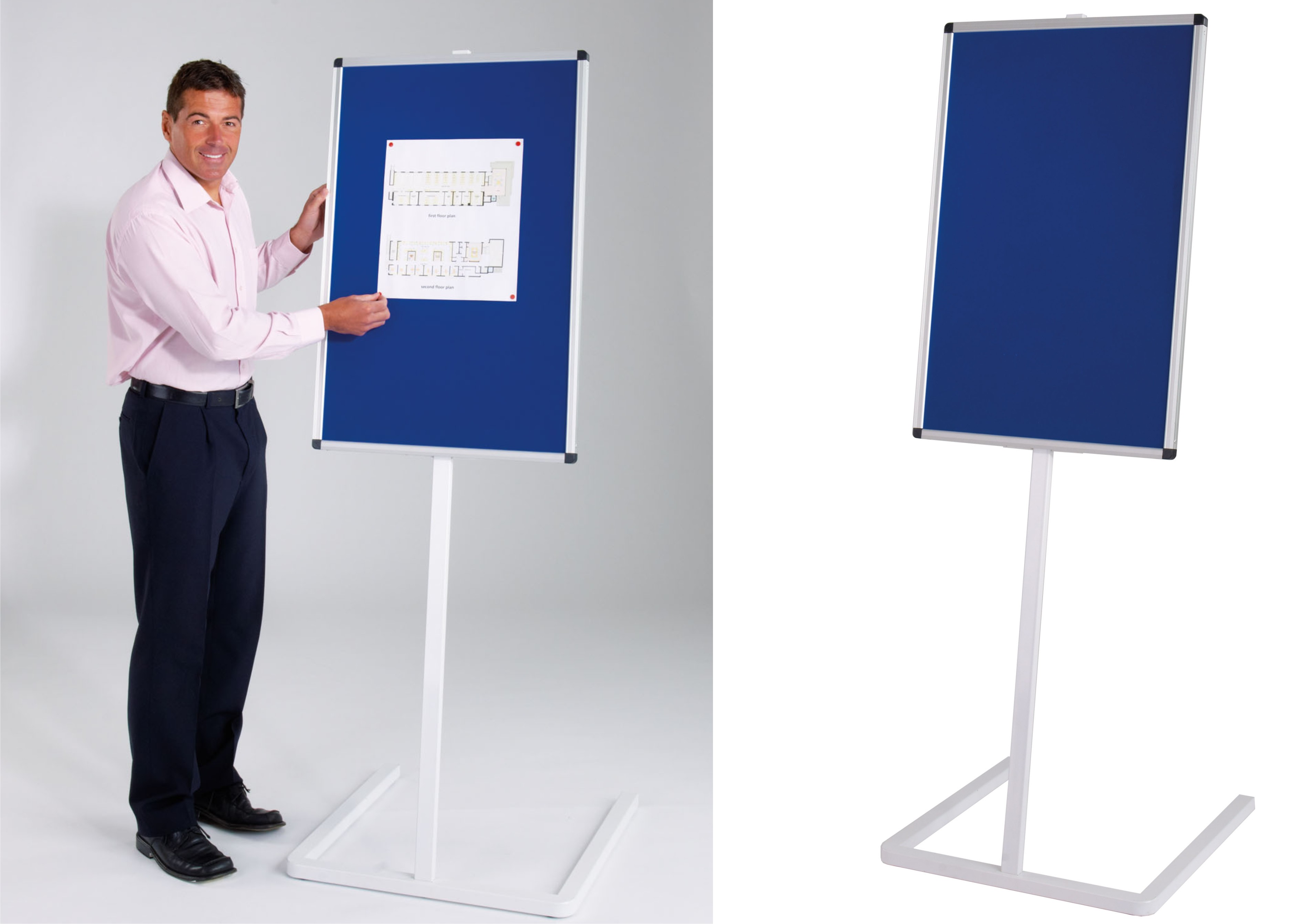 WriteOn - Stand Mounted Angled Whiteboard