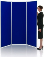 Full Height Folding Display Panels