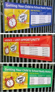 Getting Your Child to School Banners