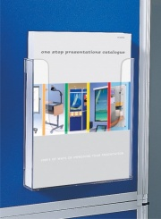 Display Panel Mounted Literature Dispenser