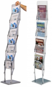Media Deluxe Literature / Brochure Holder