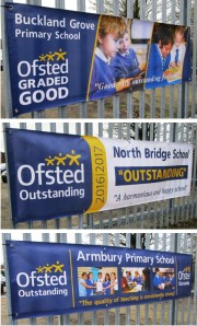 Custom Printed Ofsted Banners