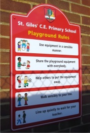 Wall Mounted ACM Play Area Rules