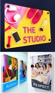 Clearview Acrylic School Signs