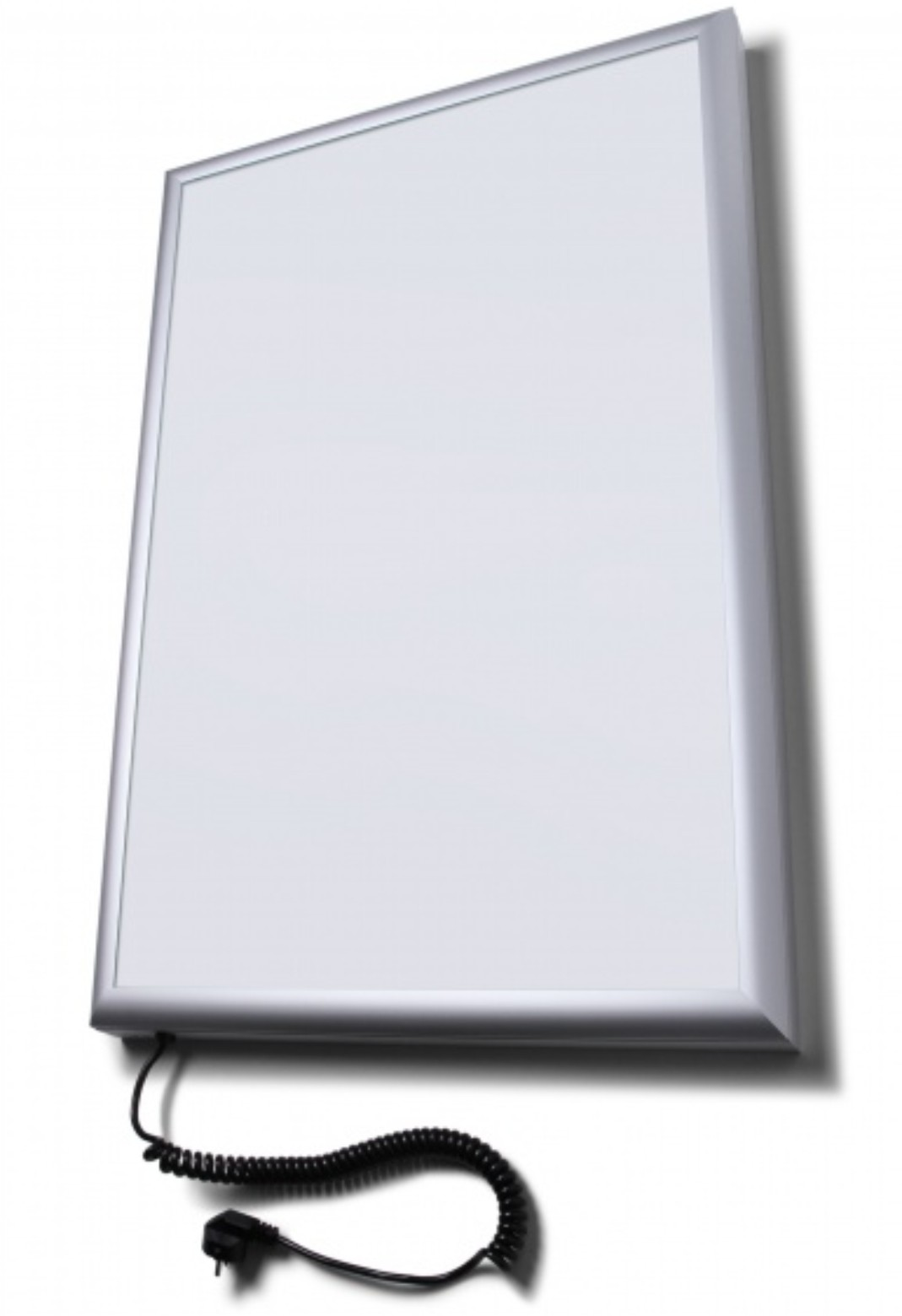 Flat front poster light box