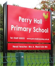 Premium Post Mounted Aluminium School Signs