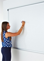 Projection Drywipe Whiteboard - Non Magnetic