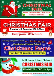 School Christmas Banners