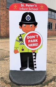 Child Friendly Custom Safety Pavement Signs