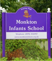 AS760 Post Mounted Aluminium School Signs