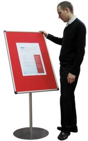The Scribe - Freestanding Foyer / Notice Board
