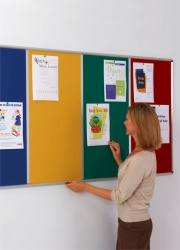 Shield Multi-Bank Notice Boards