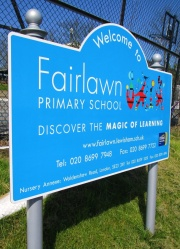 Aluminium Faced School Signs - Post Mounted School Signs