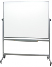 Slimline - Mobile Drywipe Whiteboard - Non Magnetic