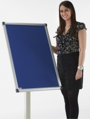 Vision Freestanding Foyer Notice Boards