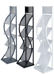 Wave Freestanding Literature Holders