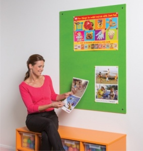 ColourPlus Unframed Notice Boards