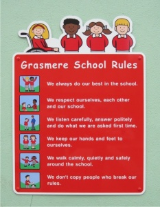 Character Wall Mounted ACM Play Area Rules