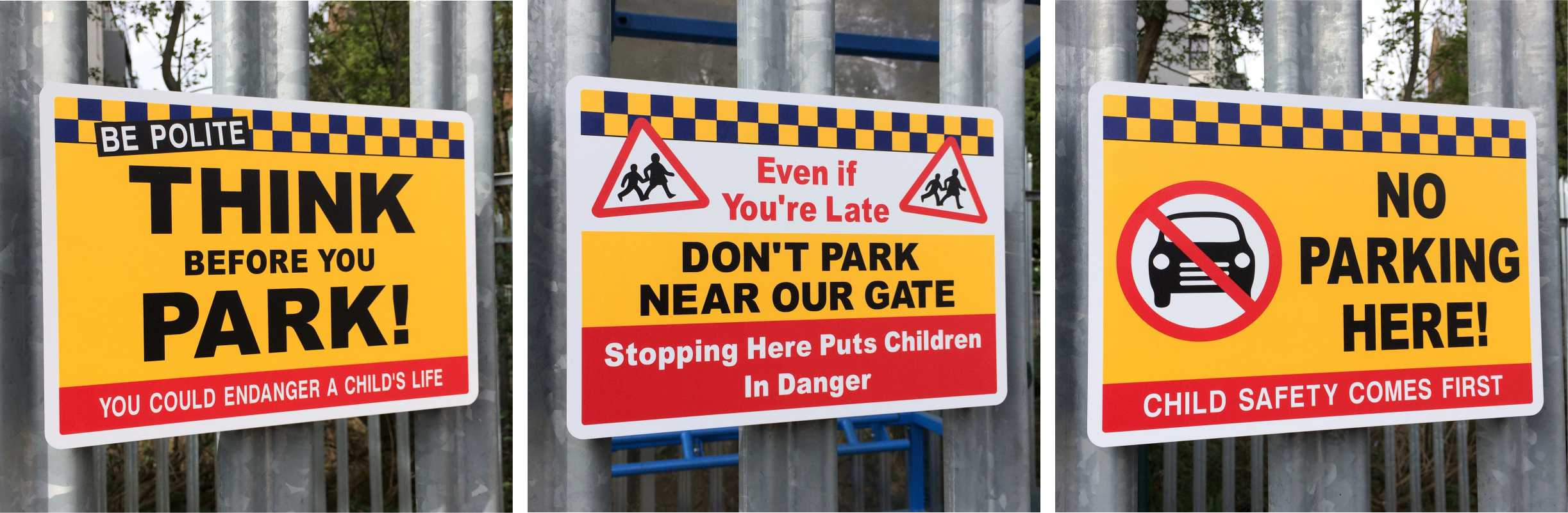 School No Parking Safety Signs